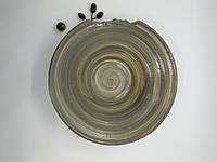 Тарілка керамічна ручної роботи, фото 1