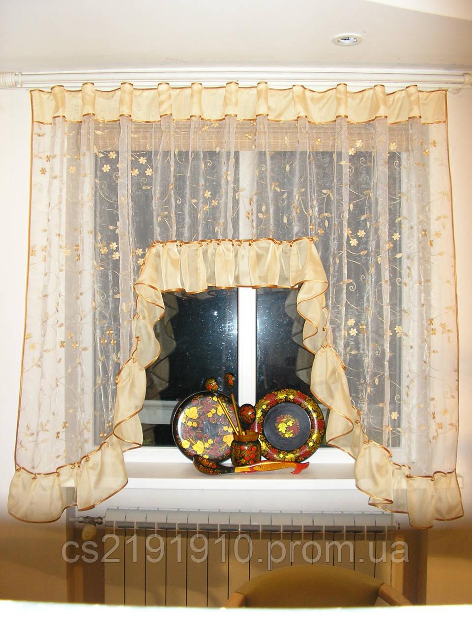 Тюль арка для кухни Аркадия, фото 1