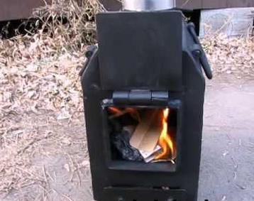 """Печка длительного горения """"Вулкан мини"""", фото 2"""