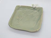 Керамічна Тарілка квадратної форми