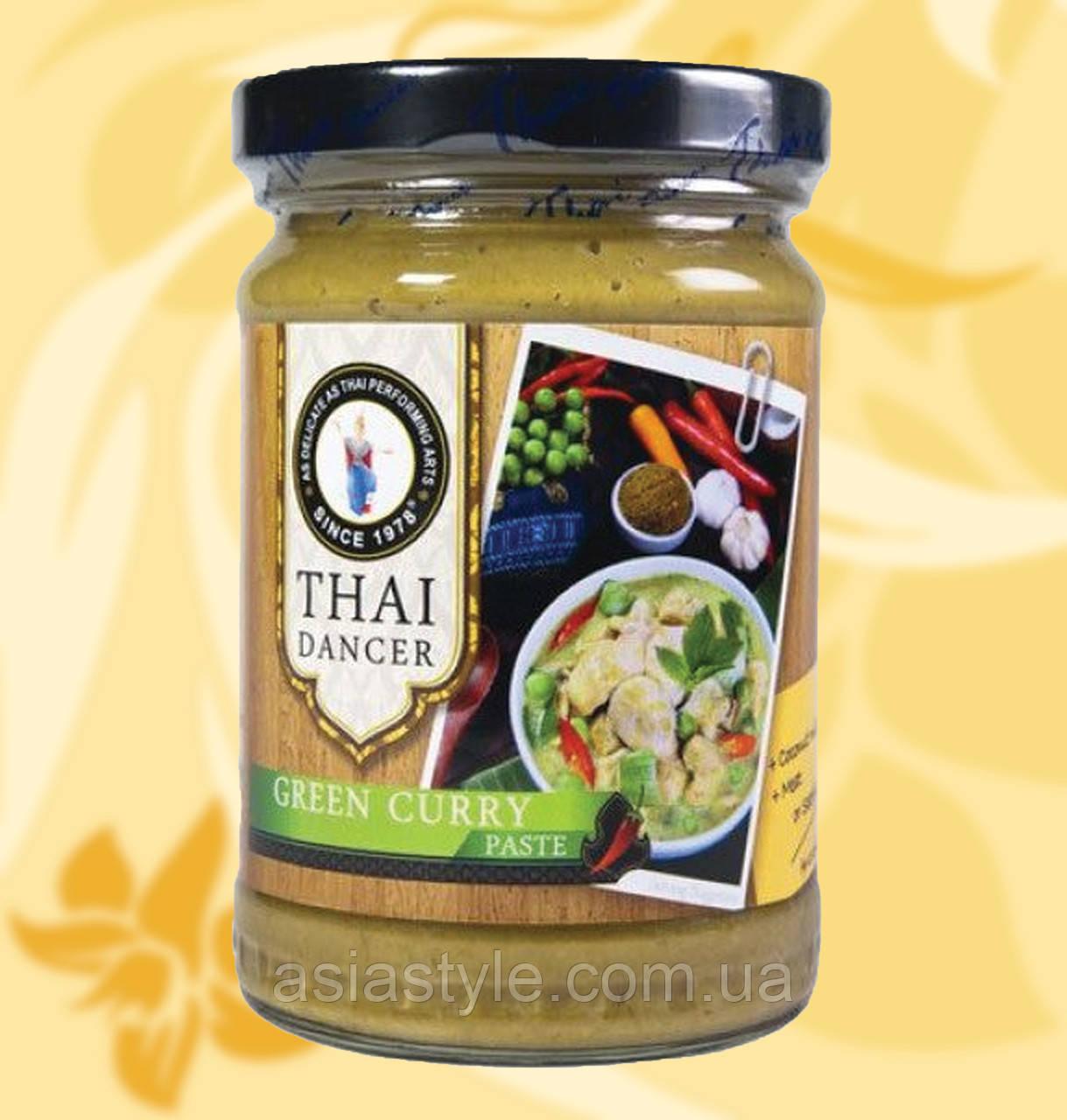 Карі паста зелена, Thai Dancer, 227г, Дж