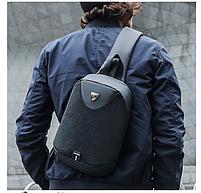 Однолямочный рюкзак ARCTIC HUNTER XB00049 USB Черный, фото 3