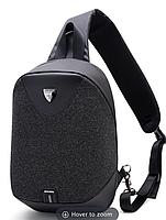 Однолямочный рюкзак ARCTIC HUNTER XB00049 USB Черный, фото 2