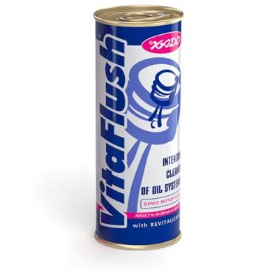 VitaFlush - очиститель маслосистемы (универсальный) на 4-5 л масла  авто и мототехники 250 ml.
