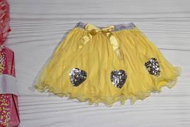 Юбка для девочки Турция от 3 до 7 лет