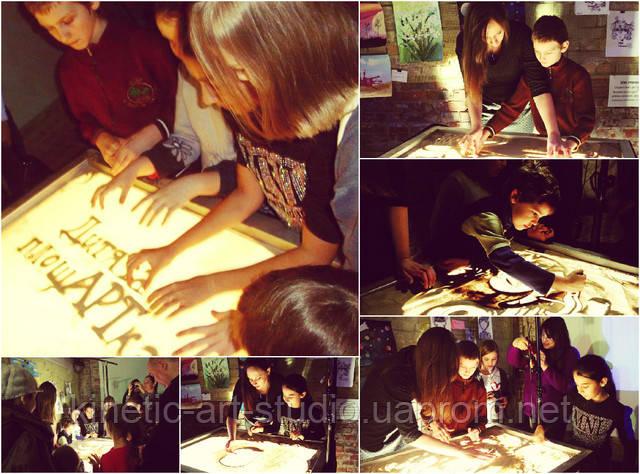 мастер класс по песочной анимации, песочное шоу, рисование песком, рисунки на песке