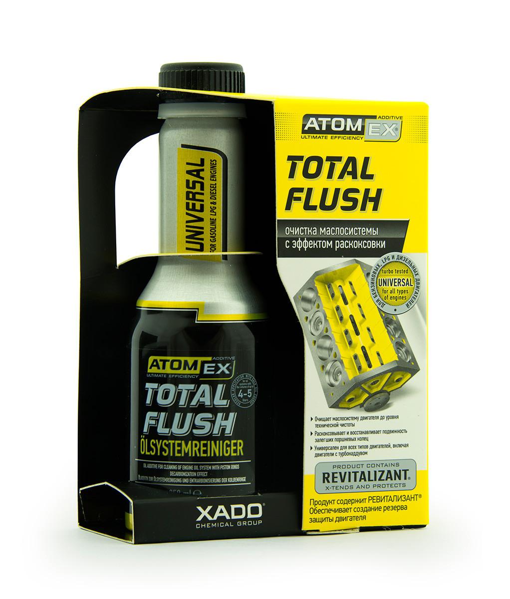 TotalFlush- Очиститель маслосистемы двигателей с эффектом раскоксовки поршневых колец. 250 ml.