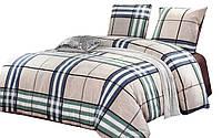 Комплект постельного белья Хлопковый Сатин NR C1234 Oulaiya 8947 Бежевый