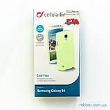 Чехол Cellular Line Cool Fluo Samsung Galaxy s4 i9500 Lime [COOLGALAXYS4L] EAN/UPC: 8018080185212, фото 4