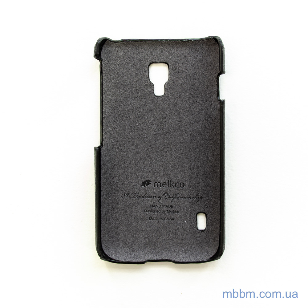 Чехлы для LG Melkco Snap Cover L7 2 Dual P715 black Для телефона