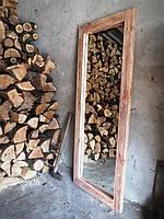 """Зеркало напольное """"Порто"""" 170х80х4см, светлый орех (любой размер), дерево"""