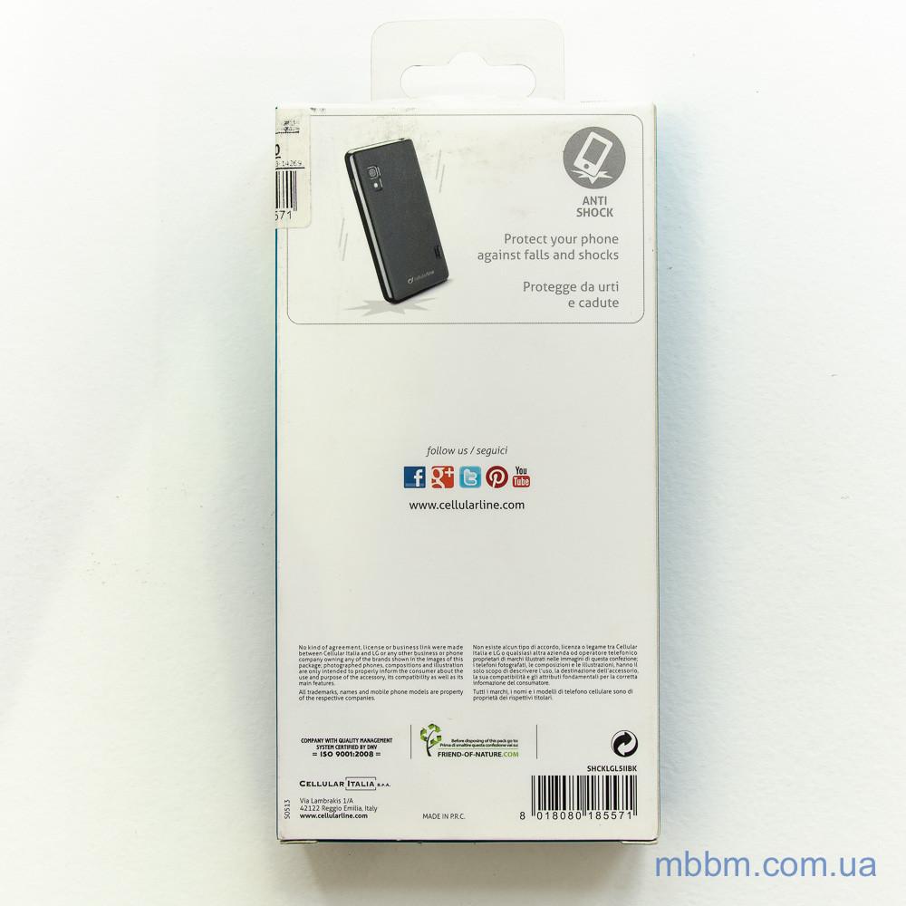 Cellular Line Shocking LG Optimus L5 2 E460 black Для телефона