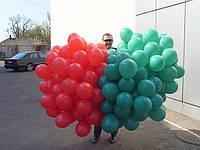 Надувание шаров гелием для промо акций