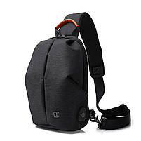 Крутой однолямочный рюкзак через плечо Tangcool TC905, влагозащищённый, 3л, фото 4