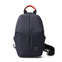 Крутой однолямочный рюкзак через плечо Tangcool TC905, влагозащищённый, 3л, фото 7