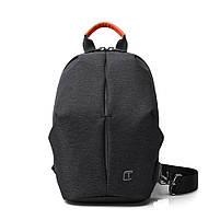 Крутой однолямочный рюкзак через плечо Tangcool TC905, влагозащищённый, 3л, фото 10