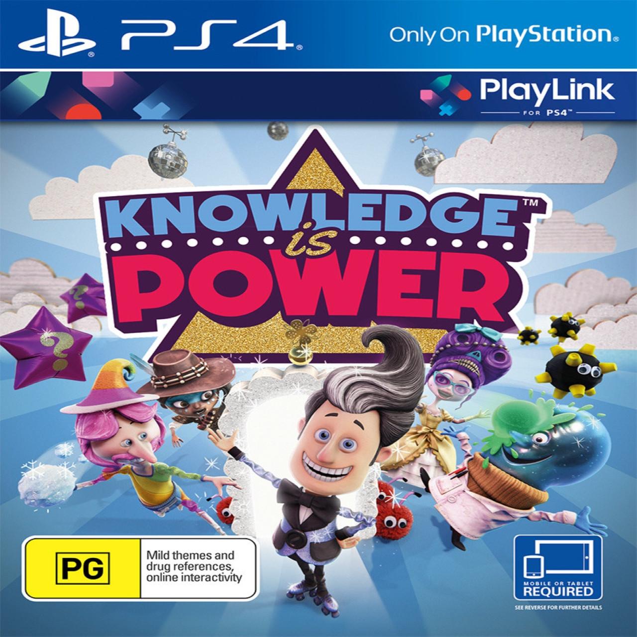 Knowledge is power (англійська версія) PS4 (Б/В)
