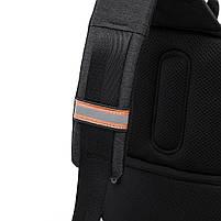 """Рюкзак однолямочный TANGCOOL TC907, черный, для ноутбуков/планшетов до 10"""", фото 3"""