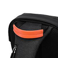 """Рюкзак однолямочный TANGCOOL TC907, черный, для ноутбуков/планшетов до 10"""", фото 5"""