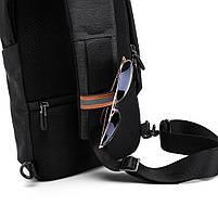 """Рюкзак однолямочный TANGCOOL TC907, черный, для ноутбуков/планшетов до 10"""", фото 6"""