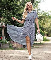 Платье Молли 48-56 синий, фото 1