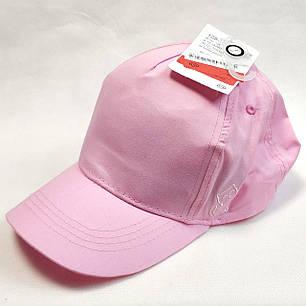 Детская летняя кепка бейсболка для девочки розовая бренд c&a 8-12 лет, фото 2