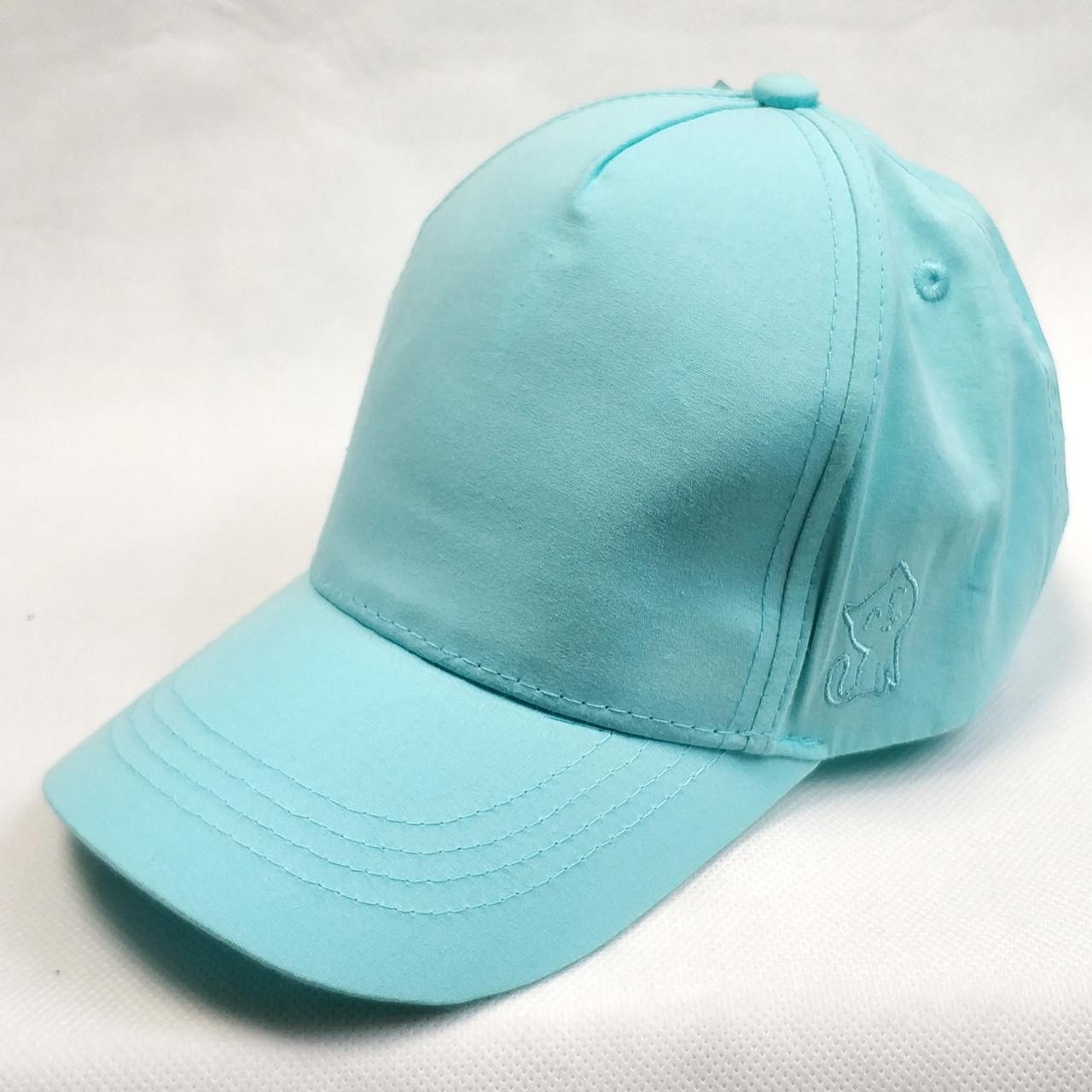 Детская летняя кепка бейсболка для девочки мята бренд c&a 4-7 лет