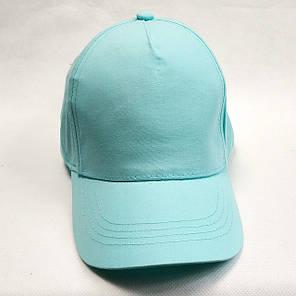 Детская летняя кепка бейсболка для девочки мята бренд c&a 4-7 лет, фото 2