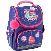 Рюкзак школьный каркасный Kite 501 Fluffy bunny K19-501S-4, фото 1