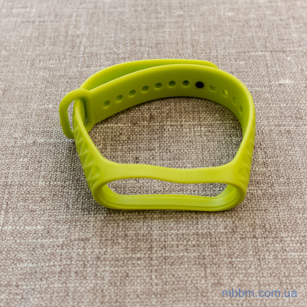 Xiaomi Strap for Mi Band 3 Lime Green Ремешок 4