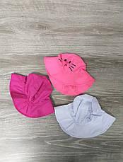 """Детская панама с накатом """"Котик"""", шляпка для девочек, 100% хлопок, размер 50-52, фото 3"""
