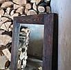 """Зеркало напольное  """"Порто""""  состаренное, брошированое,170х70х4см,  (любой размер), дерево., фото 5"""