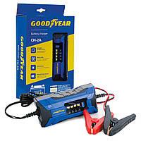 Зарядное устройство электронное Goodyear для свинцово-кислотных аккумуляторов СН-2А