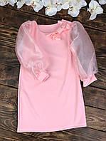 Нарядное платье для девочки шифоновый рукав