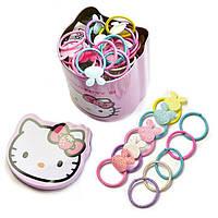 Набор резинок для волос   Детские резинки  40 штук  Комплект резинок Подарочный набор Прекрасный подарок