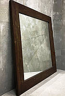 "Зеркало настенное ""Lot Porto"" 100х80х4см. Натуральное дерево, любой размер."