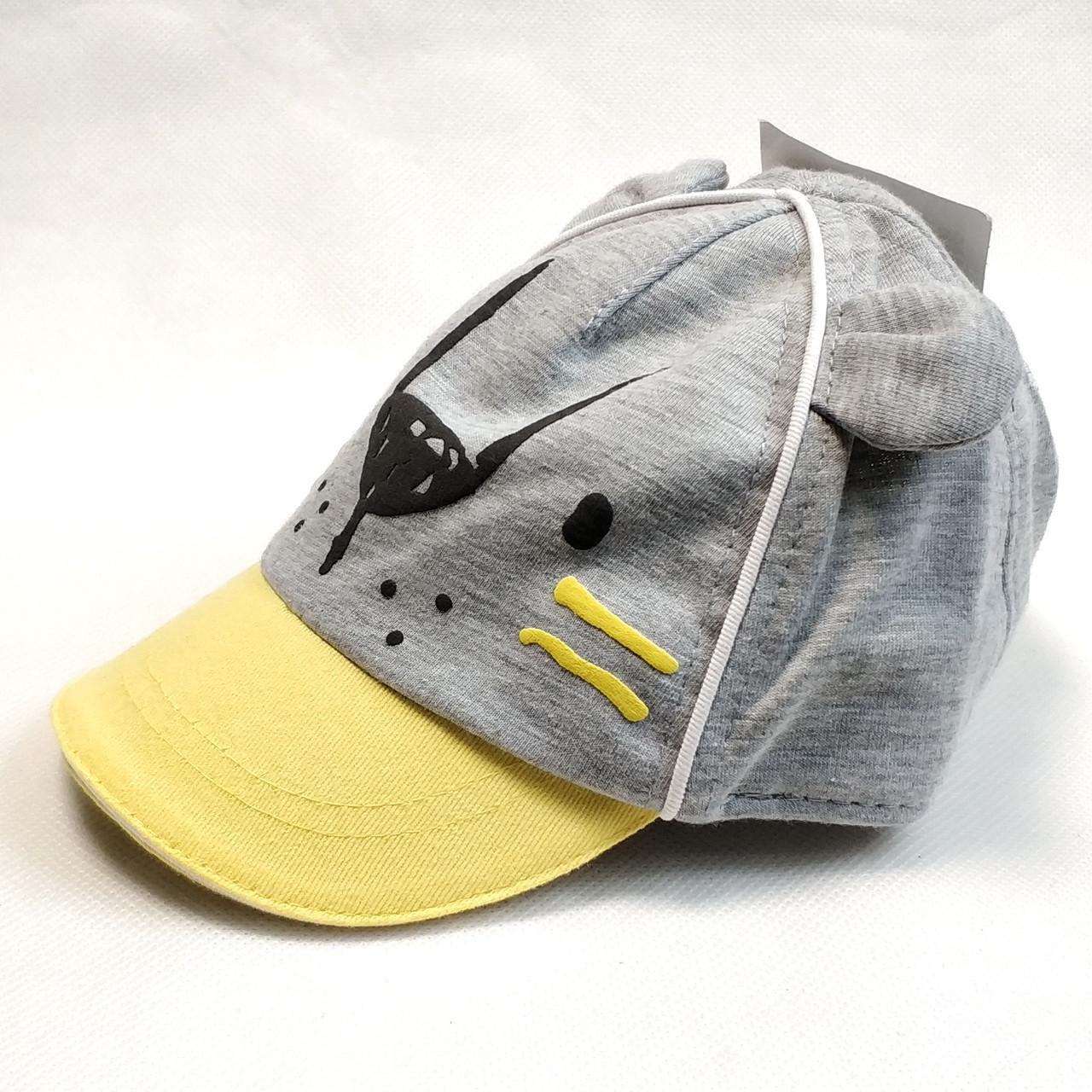 Детская летняя кепка бейсболка для мальчика бренд c&a 3-6 месяцев