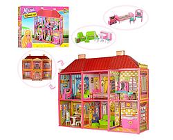 Кукольный двухэтажный домик My lovely villa 6983