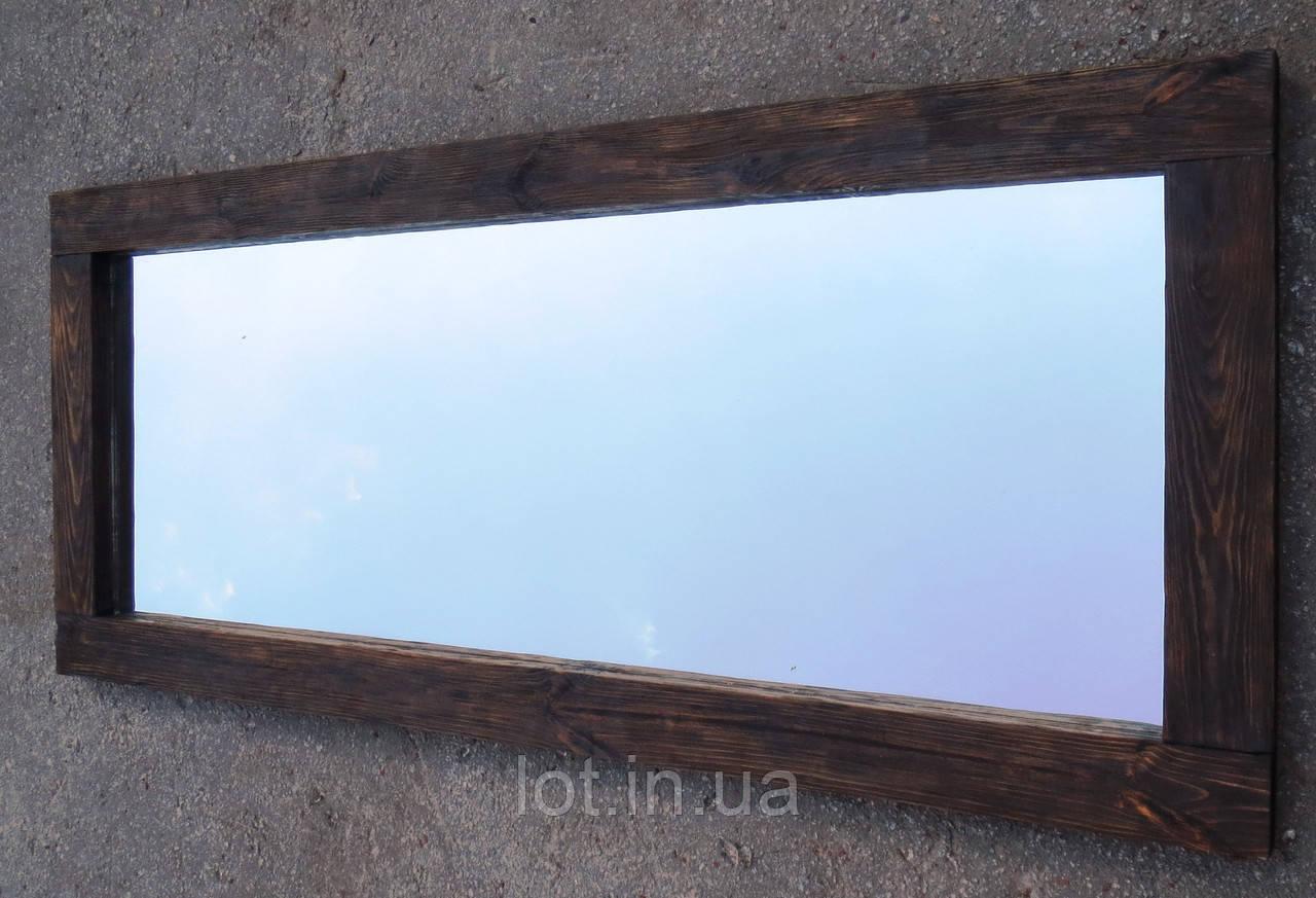 """Зеркало настенное """"Lot Porto""""  160х70х4см, состаренное. Натуральное дерево, любой размер."""