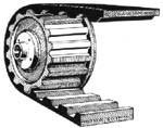 Ремень модульный зубчатый СБ 7-75-80 ТУ-00149438-073-95 (Белорусия)