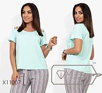 fc69cd9f Женская футболка больших размеров в Украине. Сравнить цены, купить ...