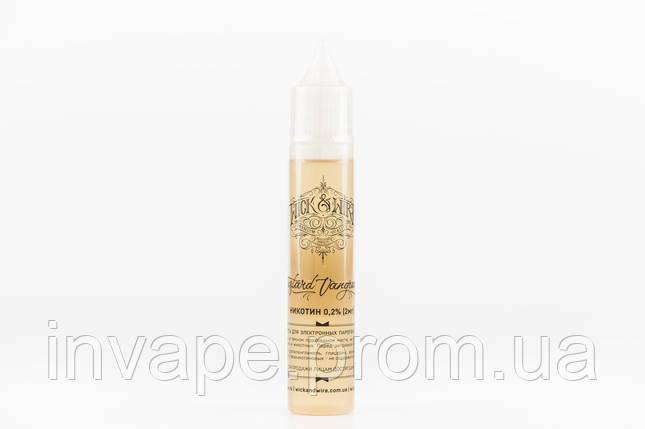 Жидкость для электронных сигарет Wick&Wire - Custard Vanguard (Персик, абрикос, заварной крем) 30мл, 2 мг, фото 2