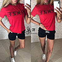 Костюм майка Vogue футболка +  шорты, фото 1