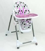 Детский стульчик для кормления  ФИОЛЕТОВЫЙ(7) (Арт. 34209)