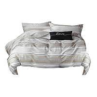 Комплект постельного белья Хлопковый Сатин NR C1303 Oulaiya 7887