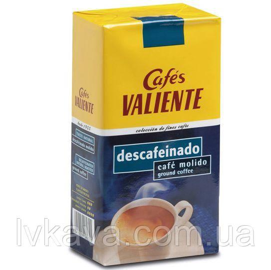 Кофе молотый Cafes Valiente descafeinado, 250г