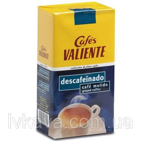 Кофе молотый Cafes Valiente descafeinado, 250г, фото 2