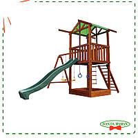 Игровой комплекс Babyland-2 с песочницей и горкой
