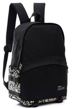 Рюкзак городской BR-S с орнаментом черный (977786222), фото 2