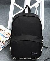 Рюкзак городской BR-S с орнаментом черный (977786222), фото 3